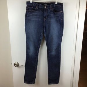 J Brand | Mid Rise Skinny Leg Jeans Dark Vintage